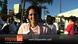 Mattie Is Susan G. Komen Honorary Breast Cancer Survivor 2007 (VIDEO)